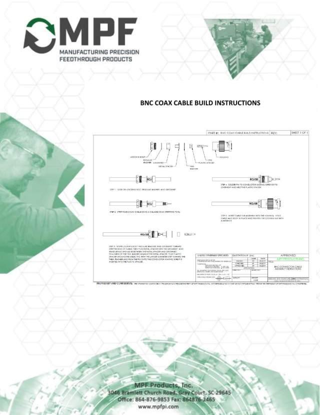 BNC Coax Cable Build Instructions