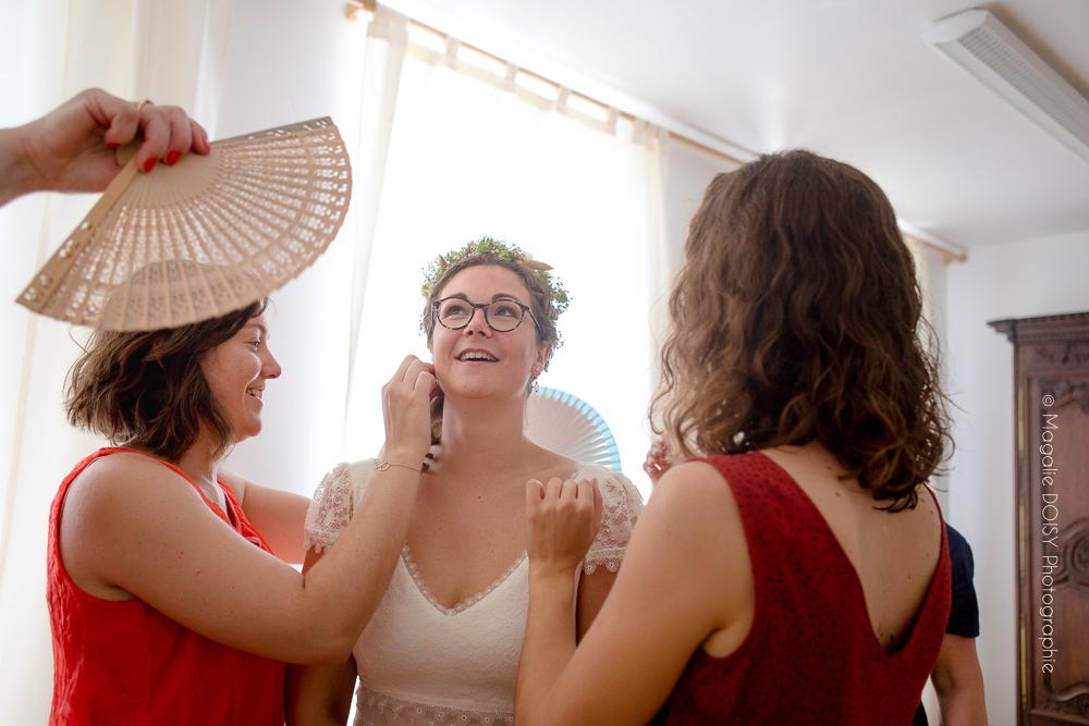 Préparatifs de la mariée Coutances