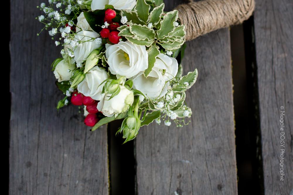 Photographe Calvados Bouquet de la mariée