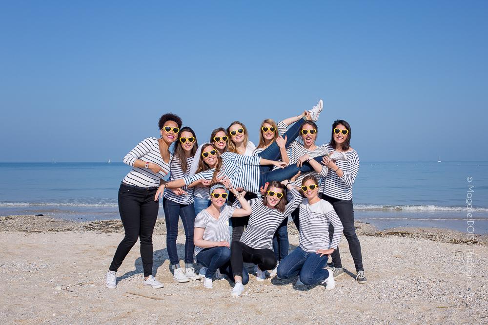 Séance photo entre copines Deauville