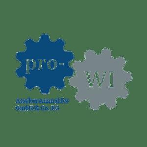 Grafikdesign - pro-WI Assekuranzmakler GmbH & Co. KG