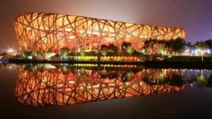 Стадион Птичье гнездо в Пекине