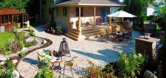 Оформление двора частного дома (ликбез поставщика)