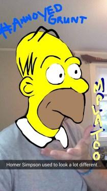 Oldschool Homer Simpson