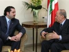 Michel Aoun - Saadeddine Hariri