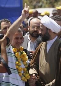 Libération de Nassim Nasser, prisonnier libanais en Israel