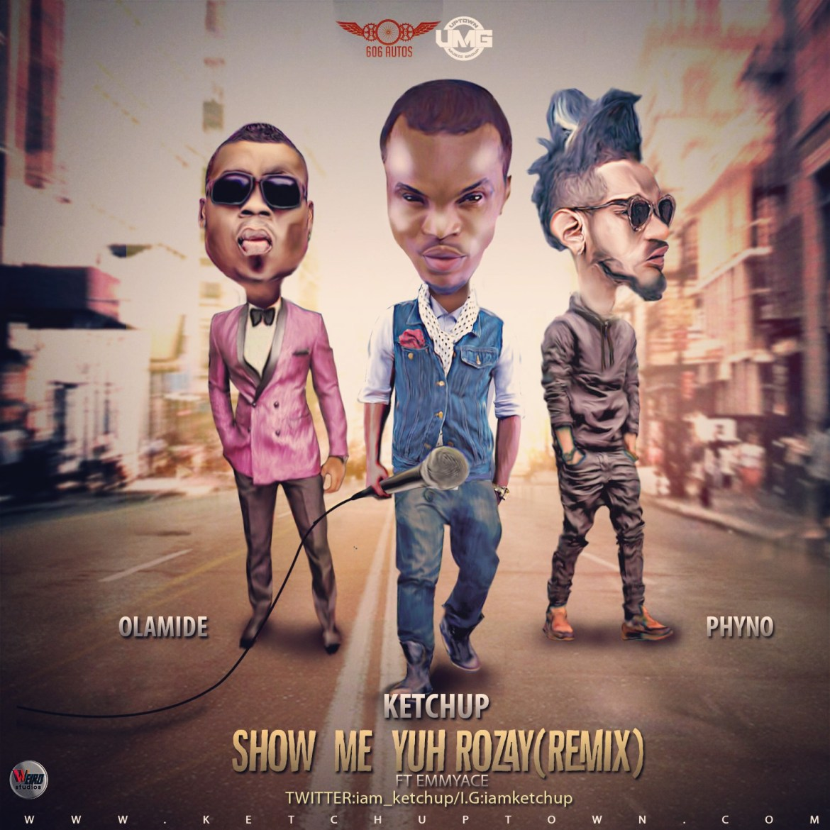 Music: KetchUp - Show Me Yur Rozay ft Olamide, Phyno & Emmy Ace