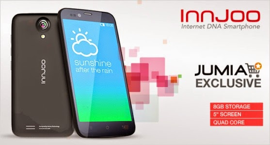 "jumia-android 5"" Android SmartPhone @ N14,000 from Jumia & InnJoo"