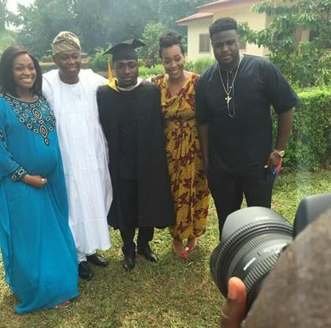 1-11 Congrats! OBO, Davido Graduates From Babcock University | Photos