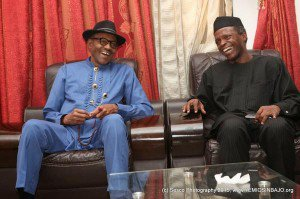 buhari-osinbajo Buhari to Reduce Ministries from 42 to 19, sets to Merge EFCC, ICPC