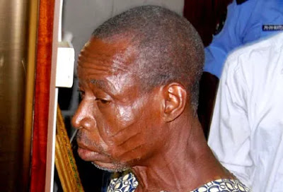 wpid-man1 Shocking!  Police Parade Old Man Who Defiled Daughters, Nieces