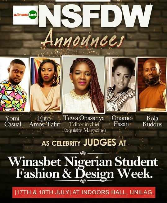 Judges Harrysong, Jaywon, Eva, Orezi, & More Set For NSFDW Week, July 2015