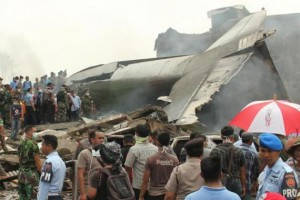 k37-300x200 Indonesian Military Plane Crashes Into Residential Area leaving Atleast 100 Dead
