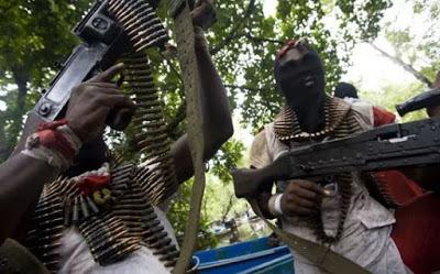 militants1 Niger Delta Militants Allegedly Invades Customs' Base In Akwa Ibom
