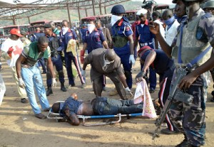 vom-300x207 Bomb Blast Hits Another Church In Jos Leaving Several People Dead