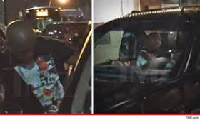 wpid-11 Floyd Mayweather's entourage involved in car crash with a bike