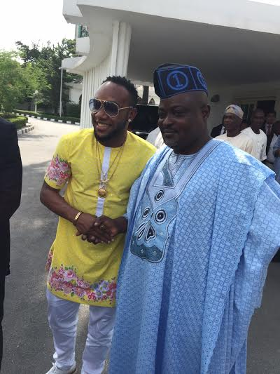 4 5Stars Kcee & Harrysong Visit Governor Ambode at State House