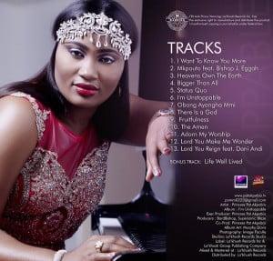 "Princess-Pat-Akpabio-IM-UNSTOPPABLE-tracklist-300x287 Princess Pat Akpabio Set To Release Album ""I'M UNSTOPPABLE"" Nov 27th @ #AnEveningWithPrincessPatAkpabio"