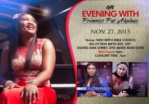 "Princess-Pat-Akpabio-Set-To-Release-Album-IM-UNSTOPPABLE-Nov-27th-@-AnEveningWithPrincessPatAkpabio-300x211 Princess Pat Akpabio Set To Release Album ""I'M UNSTOPPABLE"" Nov 27th @ #AnEveningWithPrincessPatAkpabio"
