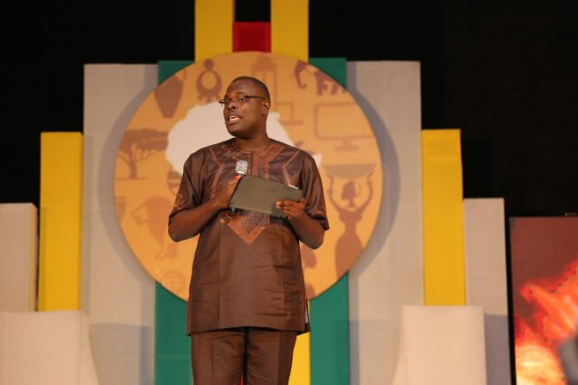 """Chude-Jideonwo-giving-his-speeach-at-The-Future-Awards-Africa-2015 """"329 Million Mobile Phones is Not Growth"""" - Chude  Jideonwo talks at The Future Awards Africa 2015"""