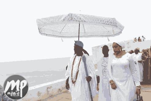 wp-1469422046218-1 Photos From Ooni of Ife's visit to Cape Coast Castle of Slaves in Ghana