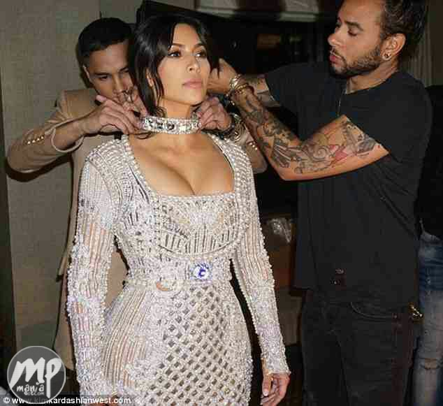 wp-1469881494018-1 See the low-cut dress Kim Kardashian almost wore to Met Gala (Photos)