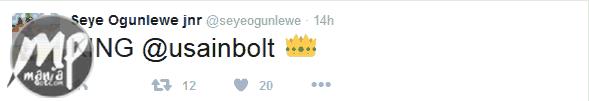 wp-1471283528504-1 See how Nigeria's fastest man Seye Ogunlewe congratulated Usain Bolt