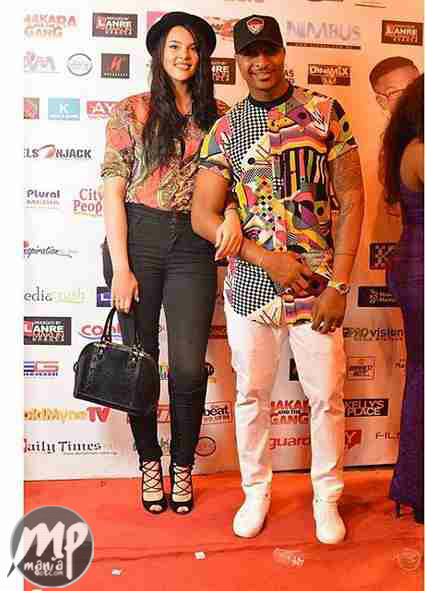 wp-1471461361243-1 Nollywood's Hottest! IK Ogbonna steps out in style alongside wife, Sonia (Photo)
