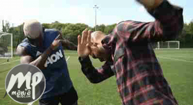 wp-1471670949485-1 Checkout Photo of £100m Paul Pogba dabbing with his idol Thierry Henry