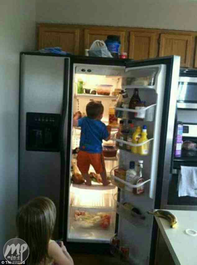 wp-1477912684642 See these Hilarious photos of what kids do when their parents aren't around