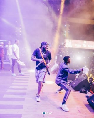 Davido And The Entire DMW Shut Down Felabration 2018 on Closing Night (Photos)