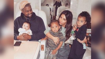 Rapper, Kanye West And His Family Escape Fire Disaster