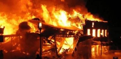 Fire Razes 70 Shops in Yan'Katako Market, Kano State