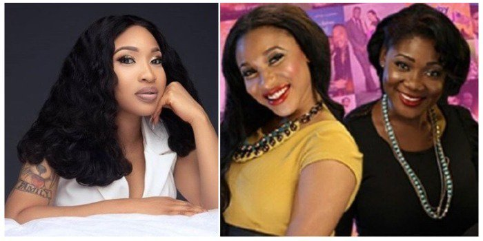 Image result for – Tonto Dikeh gushes over Mercy Johnson.... and she responds.