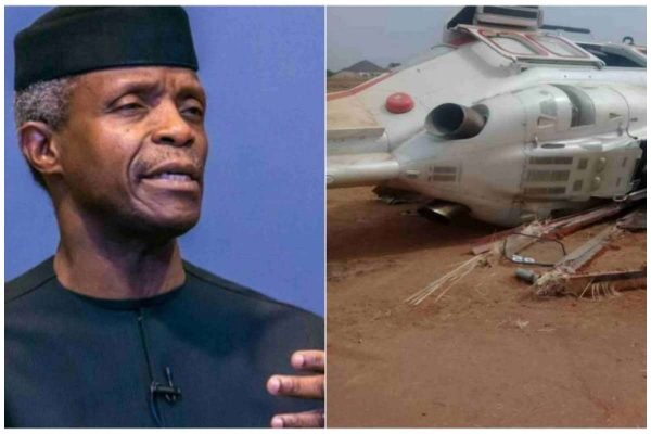 AIB gives reasons for Osibanjo's helicopter crash