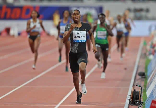 """Actions speak louder than words"" - Caster Semenya on winning Doha 800m race"