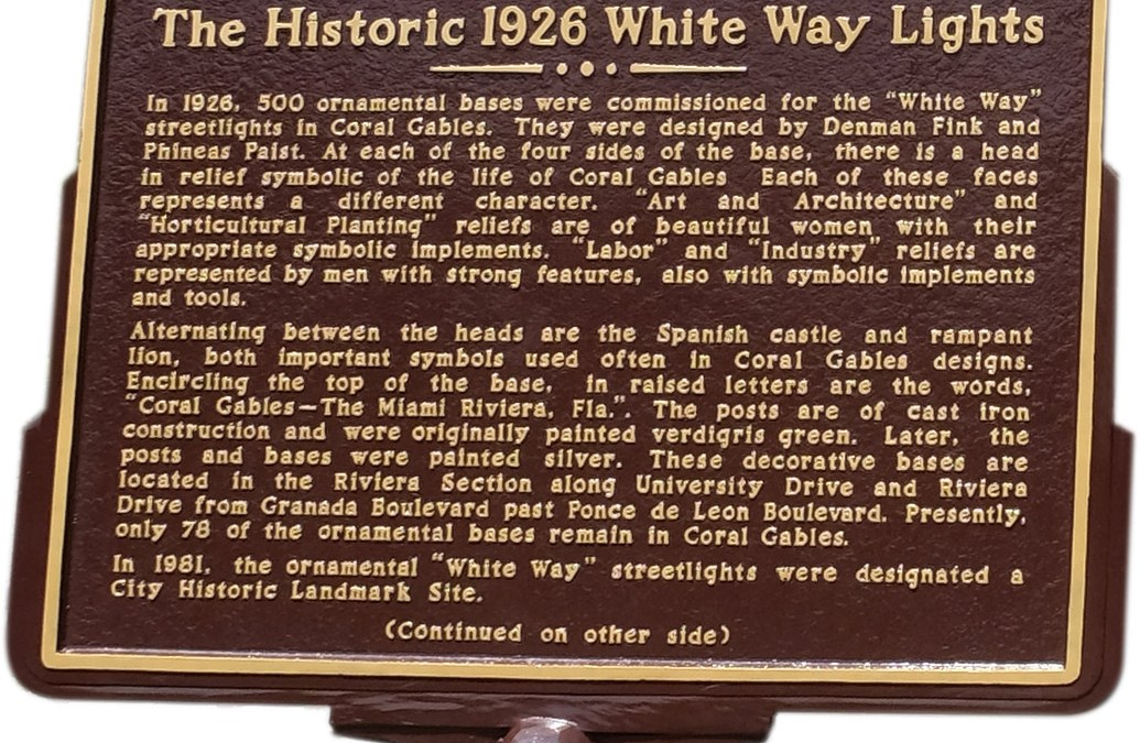 Celebration of Historic White Way Lights
