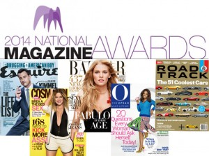 The 2014 National Magazine Awards is hosted in New York City