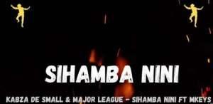 Kabza De Small Major League Djz Sihamba Nini Ft. Mkeys Mposa.co .za  300x146 - Kabza De Small & Major League Djz – Sihamba Nini Ft. Mkeys