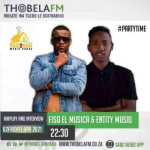 Entity MusiQ Fiso El Musica – Thobela FM Radio Mix Hiphopza Mposa.co .za  300x300 - Entity MusiQ & Fiso El Musica – Thobela FM Radio Mix