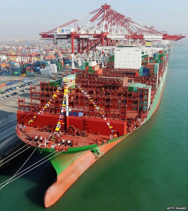 Port of Felixstowe hosts Worlds Biggest Container Ship ...