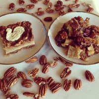 Ooey, Gooey, Pecan Pie Cobbler and Pecan Pie Bars