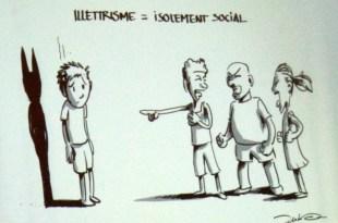 Illustration réalisée à l'occasion du Forum de Lutte contre l'illettrisme 2017