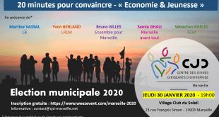 Elections municipales : débat des candidats organisée par le CJD