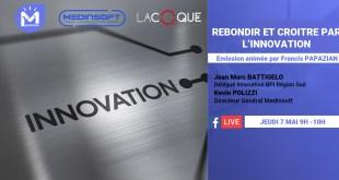 Emission covid19 spéciale Rebondir et croître par l'Innovation