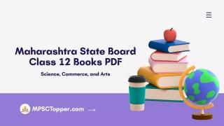 Class 12 Books PDF