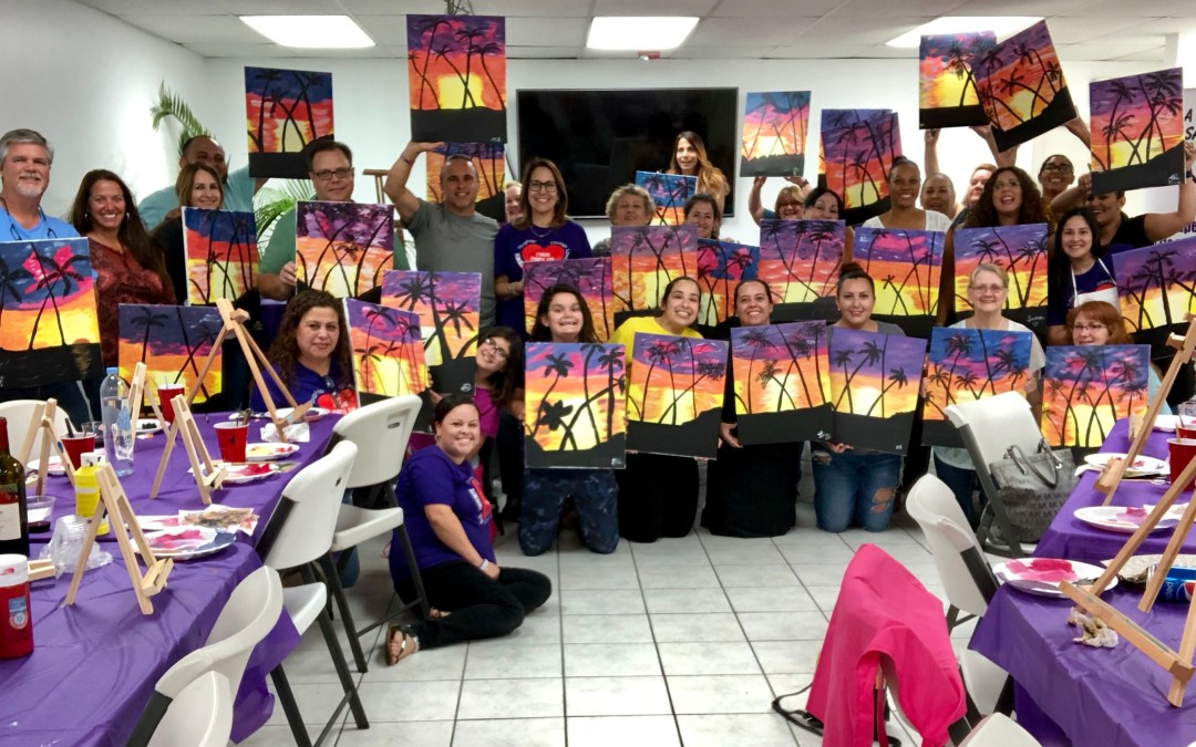Headquarter Toyota sponsored Sip & Paint