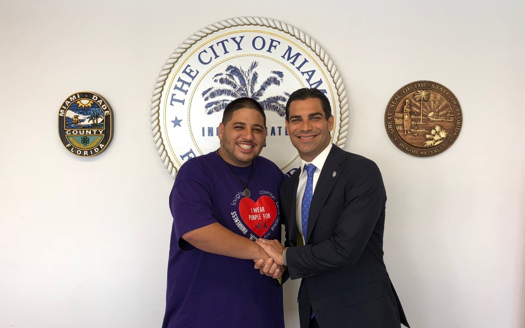 Thank you Mayor Francis Suarez and the City of Miami Government