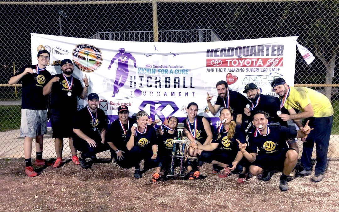 Our 3rd Annual Kickin' for a Cure Kickball Tournament Champions, Miami Lakes Optimist Park