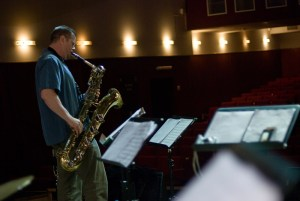 Kanvandermark's Resonance Project soundchek